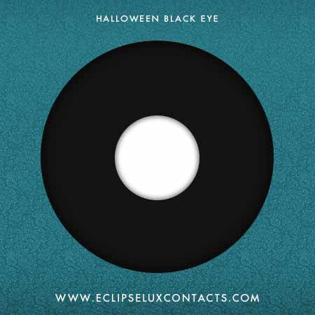 Halloween Crazy Contact Lens Black