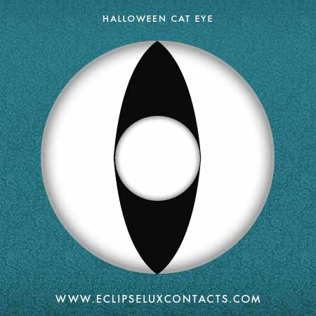 Halloween Cate Eye Contact Lens