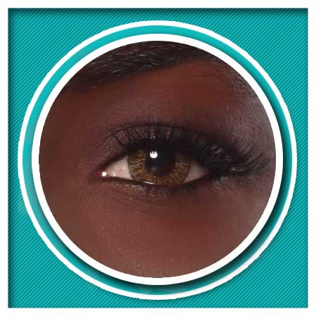 553ebe1e82 Lunar Eclipse Canary Hazel Contact Lens – Eclipse Luxury Contacts